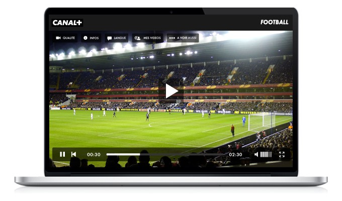 Canal+ live streaming football